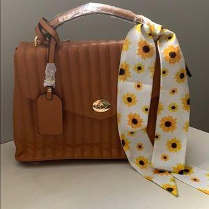 Boujie Bee Handbag/Crossbody with scarf-BNWT!